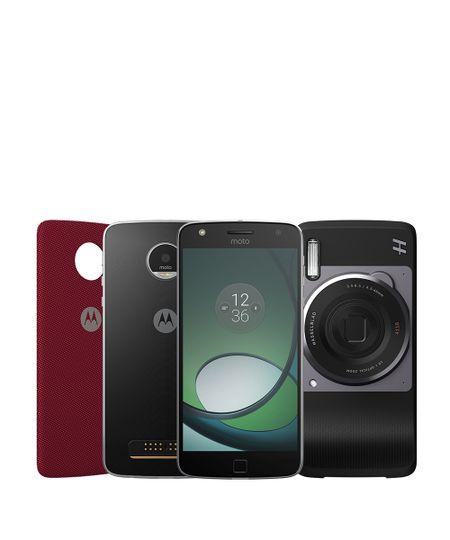 Smartphone Motorola Moto Z™ Play  Hasselblad True Zoom Edition Preto