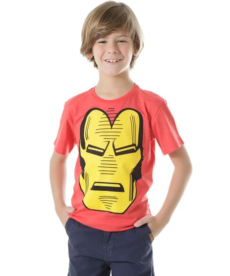 Camiseta-Homem-de-Ferro-Vermelha-8497882-Vermelho_1