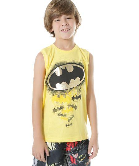 Regata Batman Amarela