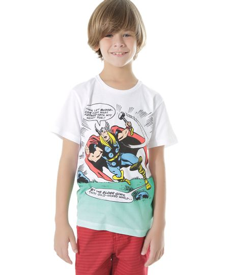 Camiseta Thor Branca