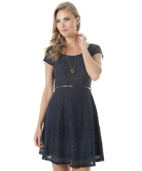 Vestido-em-Renda-com-Cinto-Azul-Marinho-8407050-Azul_Marinho_1