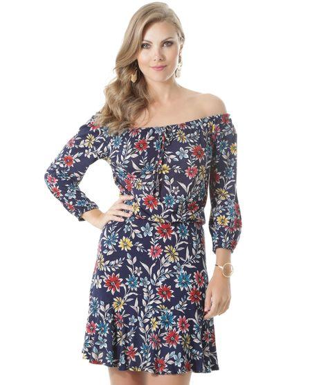 Vestido-Ombro-a-Ombro-Estampado-Floral-Azul-Marinho-8515452-Azul_Marinho_1