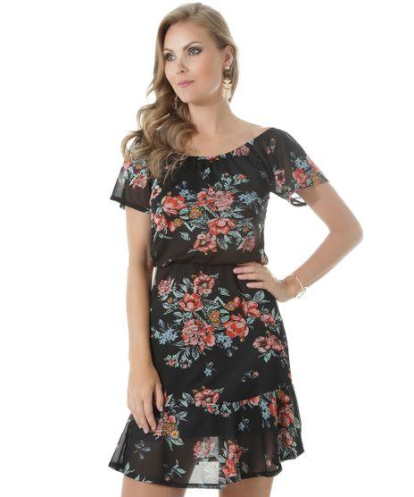 Vestido-Ombro-a-Ombro-Estampado-Floral-Preto-8513832-Preto_1
