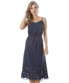 Vestido-Midi-com-Laise-Azul-Marinho-8387223-Azul_Marinho_1