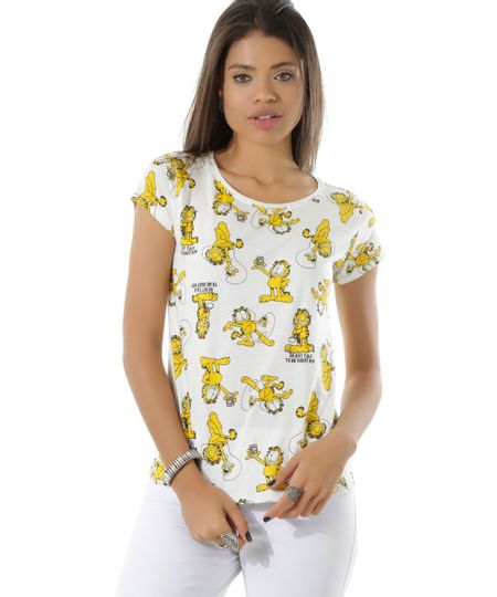 Blusa Garfield Off White