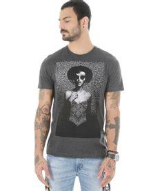 Camiseta--Mulher--Cinza-Mescla-Escuro-8508504-Cinza_Mescla_Escuro_1