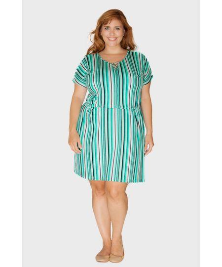 Vestido Dia Relex Plus Size