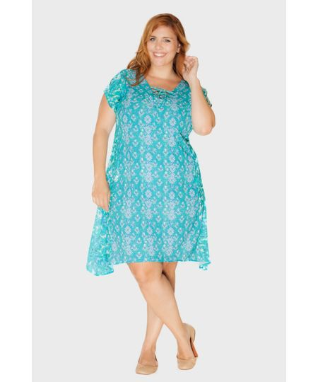 Vestido Praiana Plus Size