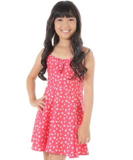 Vestido-Estampado-de-Passaros-Pink-8439119-Pink_1