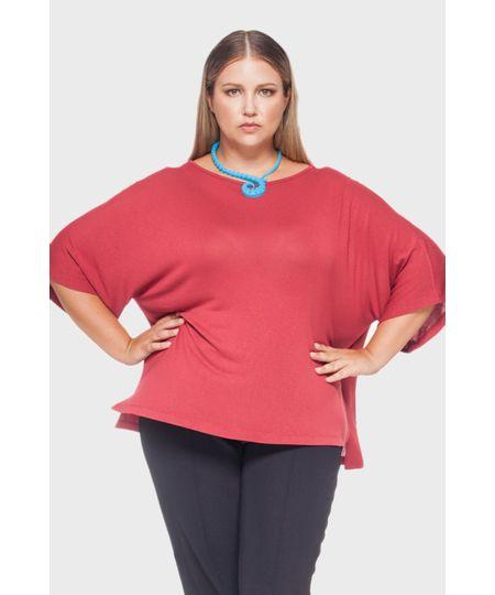 Blusa Tricô Plus Size