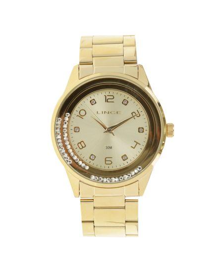 Relógio Lince Analógico Feminino - LRG4360L-C2KX Dourado