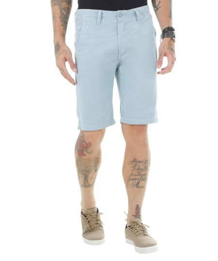 Bermuda Slim Azul Claro