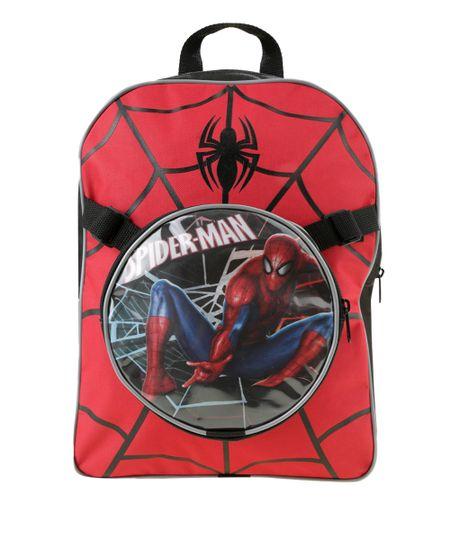 Mochila Homem Aranha Vermelha