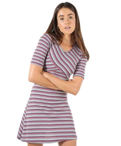 Vestido-Canelado-Listrado-Azul-8525273-Azul_1