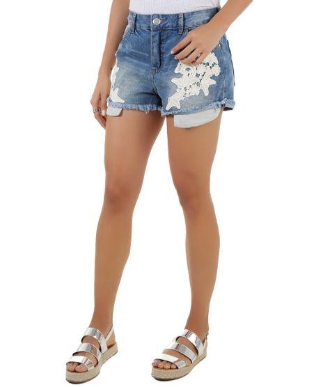 Short-Jeans-com-Bordado-Azul-Medio-8543655-Azul_Medio_1