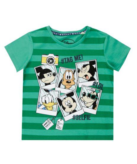 Camiseta-Turma-do-Mickey-Verde-8529325-Verde_1