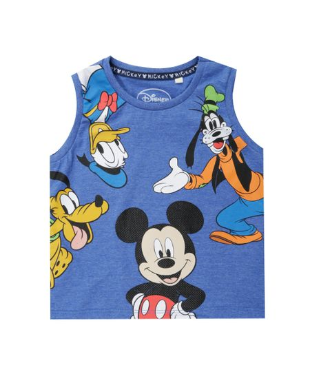 Regata Turma do Mickey Azul