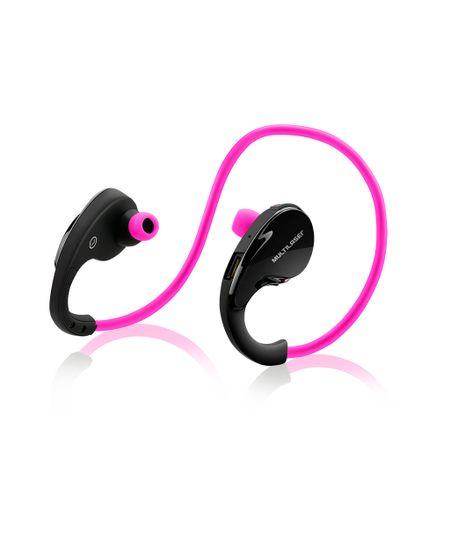 Fone de Ouvido Arco Sport Multilaser Bluetooth Rosa - PH183