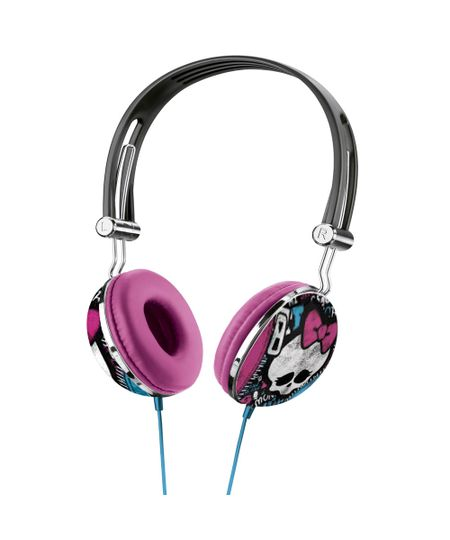 Fone de Ouvido Multilaser com Microfone Monster High Multilaser P2 - PH100