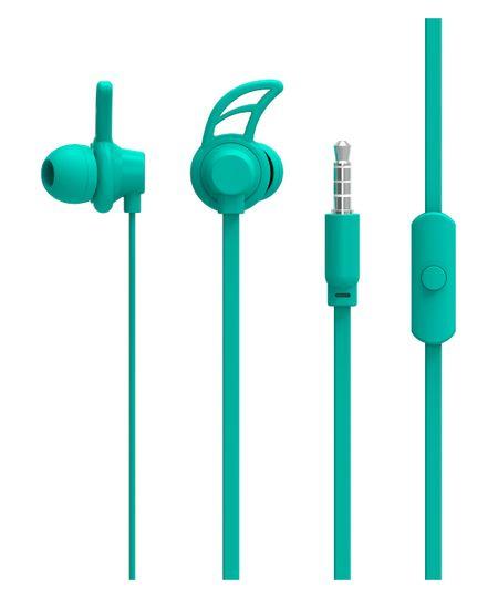 Fone de Ouvido Sport Neon Series Hook Azul - PH177