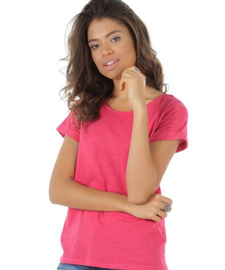 Blusa Básica Botonê Pink