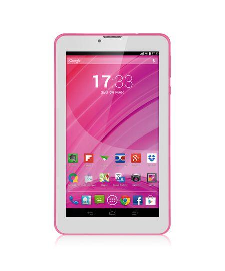 Tablet Multilaser Rosa M7 3G Quad Core Câmera Wi-Fi 7