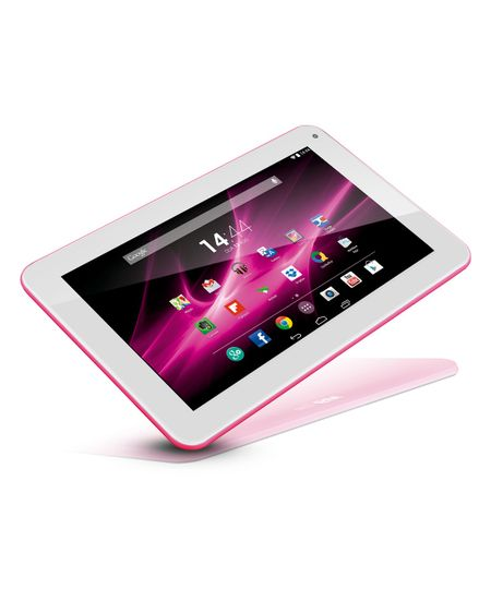 Tablet Multilaser M9 Rosa Quad Core Android 4.4 Kit Kat Dual Câmera Wi-Fi Super Tela 9