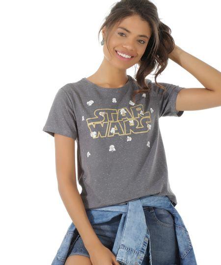 Blusa Star Wars Chumbo