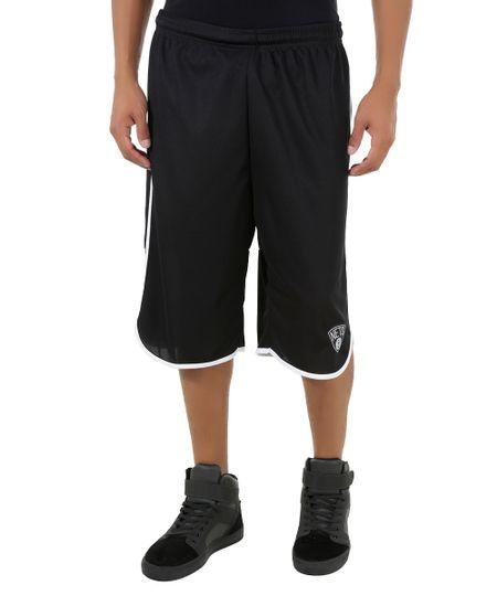 Bermuda NBA Brooklyn Nets Preta
