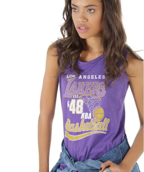 Regata-NBA-Los-Angeles-Lakers-Roxa-8510558-Roxo_1