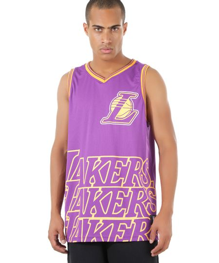 Regata NBA Los Angeles Lakers Roxa