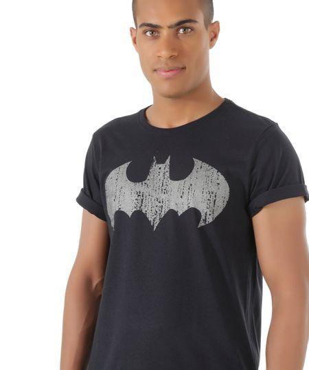 Camiseta Batman Preta