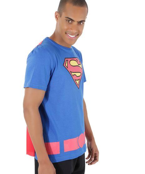 Camiseta-Super-Homem-com-Capa-Azul-8525663-Azul_1