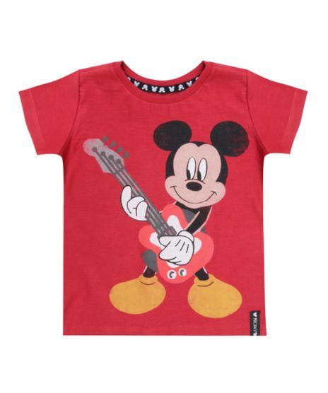 Camiseta-Mickey-Vermelha-8543415-Vermelho_1