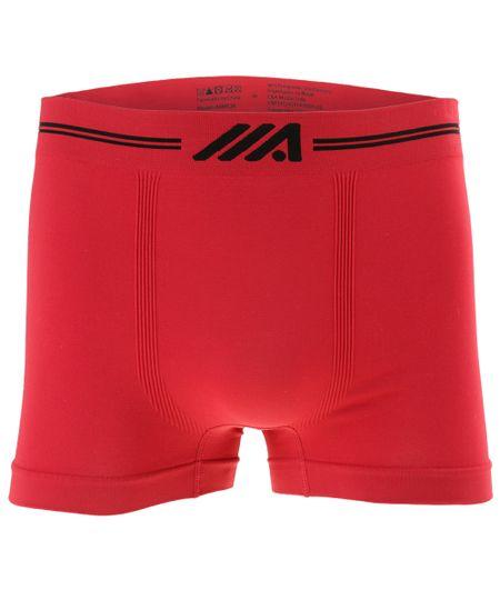 Cueca Boxer Ace Sem Costura Vermelha