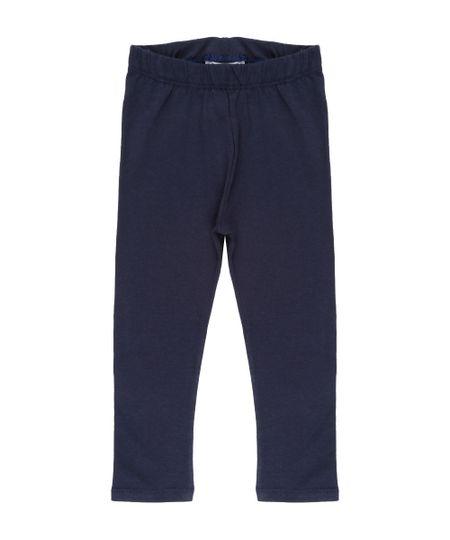 Calça Legging Básica Azul Marinho