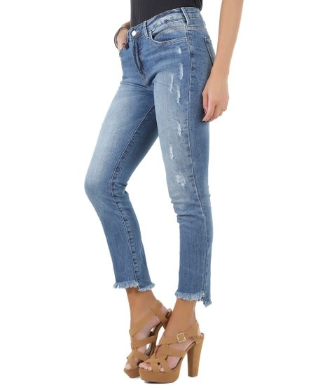 Calca-Jeans-Cigarrete-Azul-Claro-8506335-Azul_Claro_1