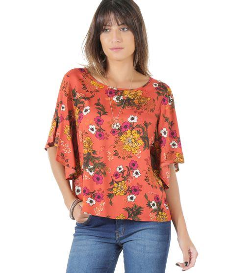 Blusa-Estampada-Floral-Laranja-8465800-Laranja_1