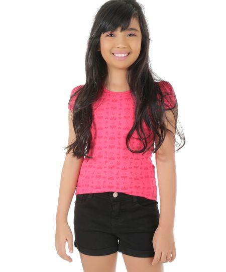Blusa Estampada Pink