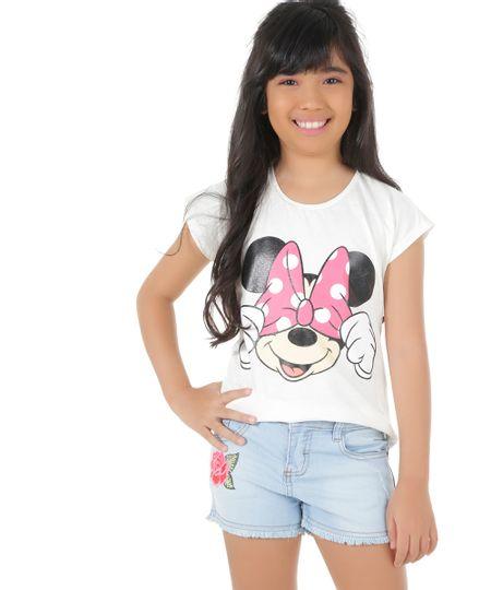 Blusa Minnie Off White