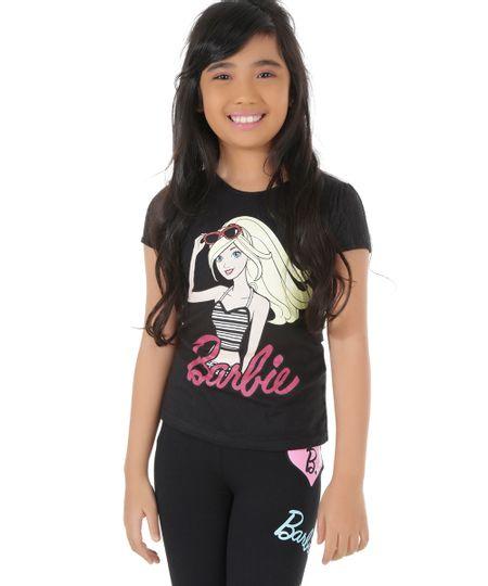 Blusa Barbie Preta