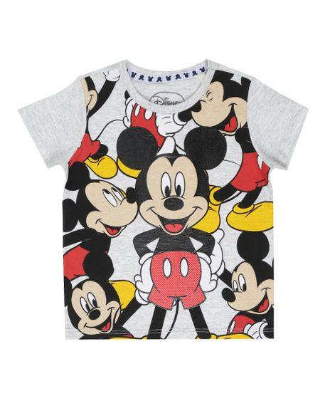 Camiseta-Mickey-Cinza-Claro-8544815-Cinza_Claro_1