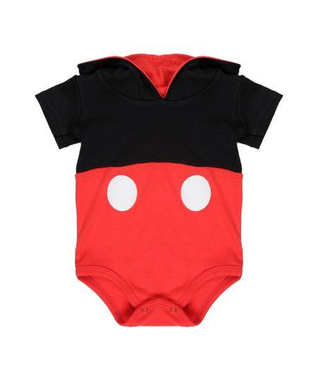 Body Mickey Vermelho