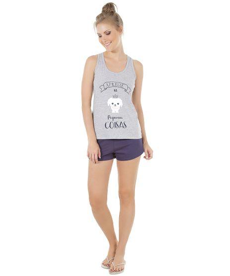 Short-Doll--Aprecie-as-Pequenas-Coisas--Cinza-Mescla-8546007-Cinza_Mescla_1