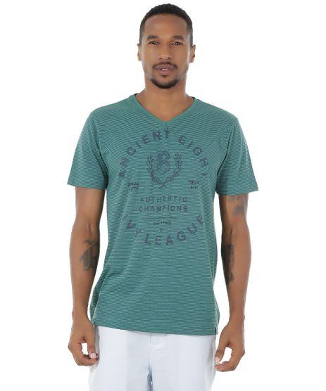 Camiseta-Listrada--Ancient-Eight--Verde-8537434-Verde_1