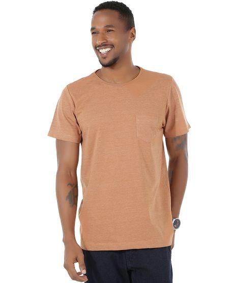 Camiseta-Flame-com-Bolso-Caramelo-8540944-Caramelo_1