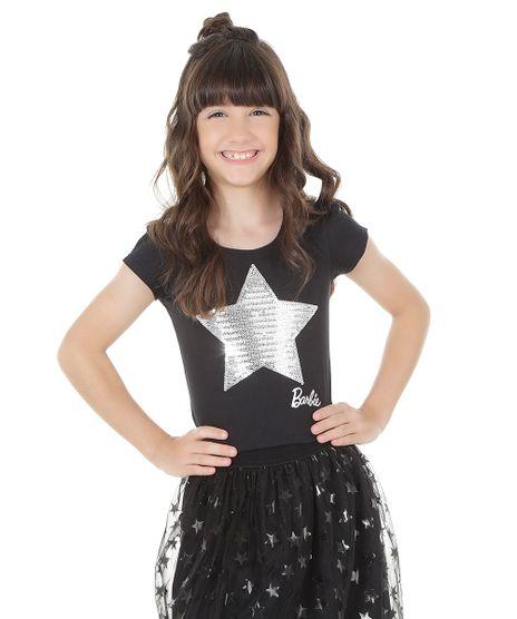 Blusa-Barbie-em-Algodao---Sustentavel-com-Paetes-Preta-8541875-Preto_1