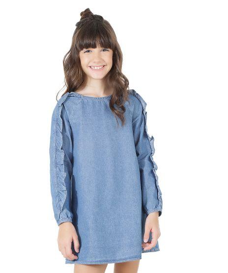 Vestido-Jeans-com-Babados-Azul-Medio-8559042-Azul_Medio_1
