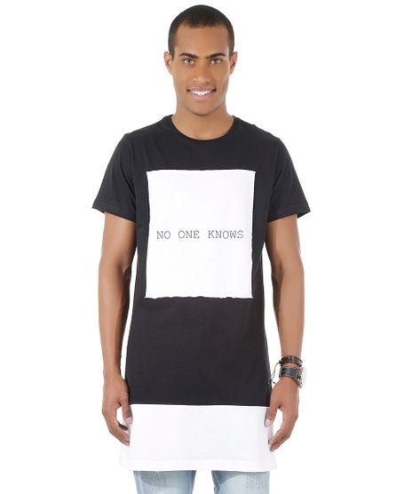 Camiseta-Longa--No-One-Knows--Preta-8450856-Preto_1