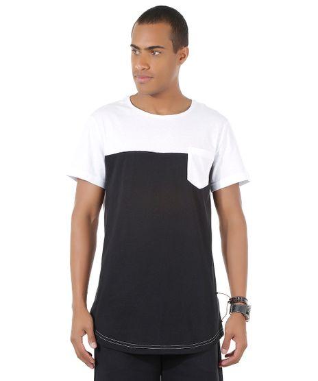 Camiseta-Longa-com-Bolso-Preta-8451498-Preto_1